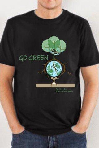 Tricou GO GREEN