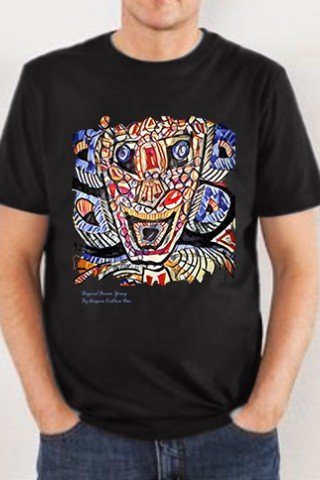 Tricou Totem colorat