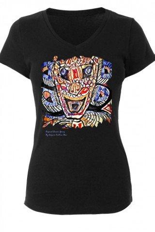 Tricou de dama Totem Colorat
