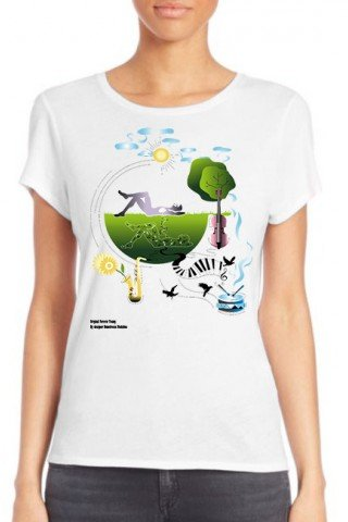 Tricou dama Sounds of Nature