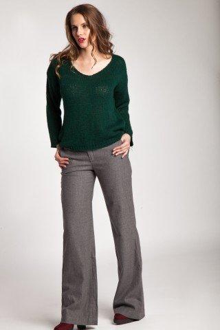 Pulover verde Heidi