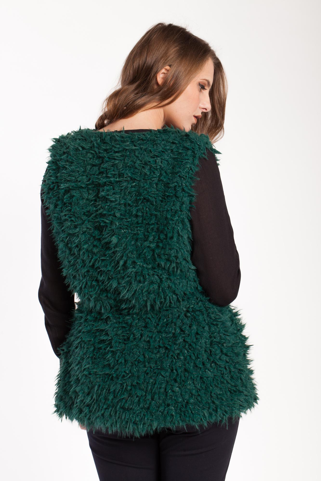 Vesta verde Heba cu blanita artificiala