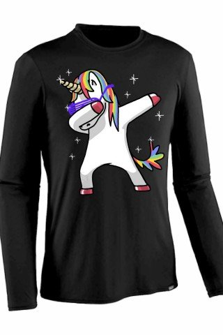 Bluza disco unicorn