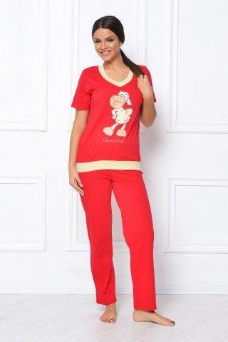 Pijama rosie I have atitude
