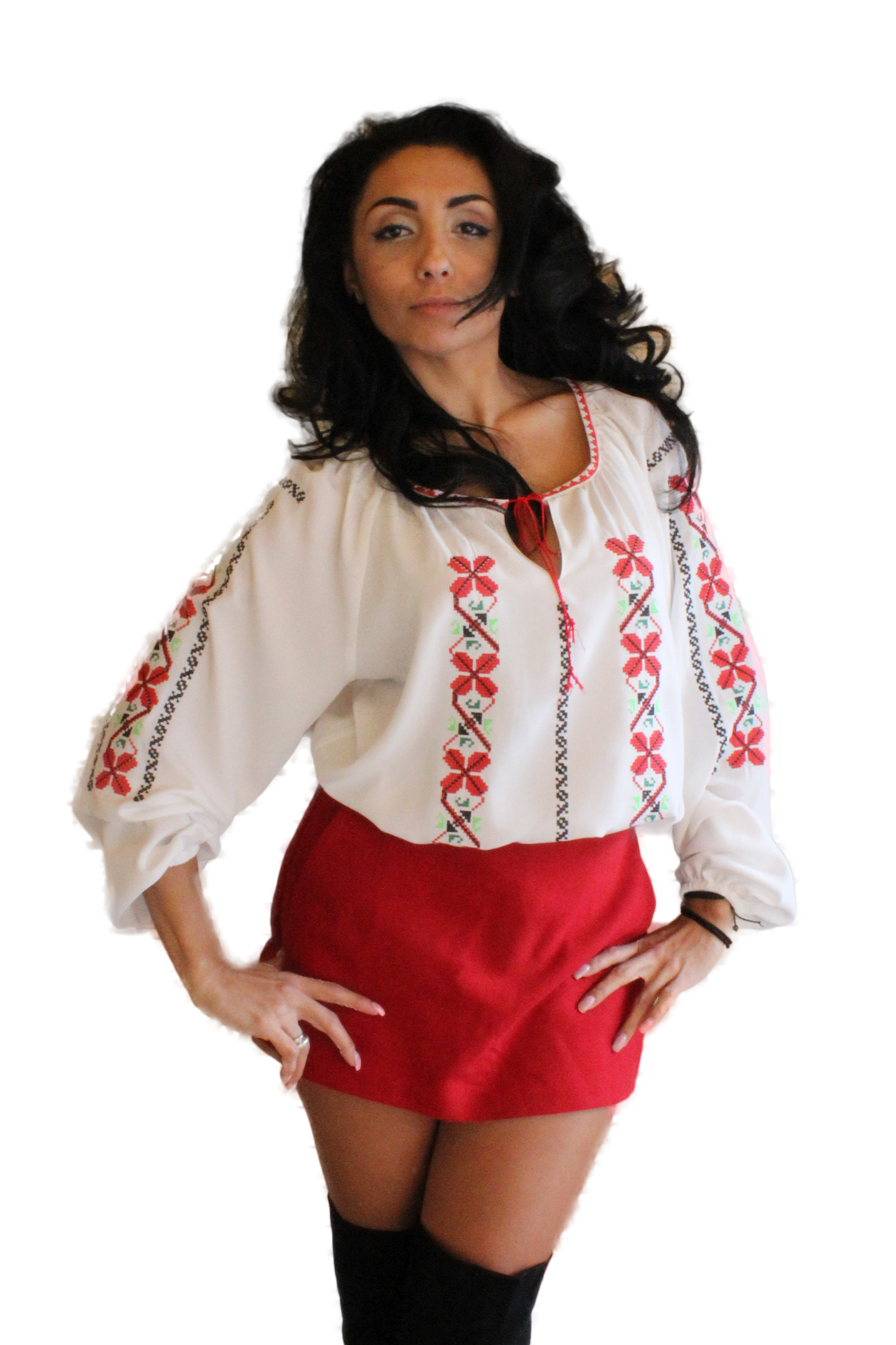 Ie Traditionala Romaneasca brodata